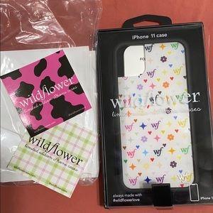 Wild flower case iPhone 11